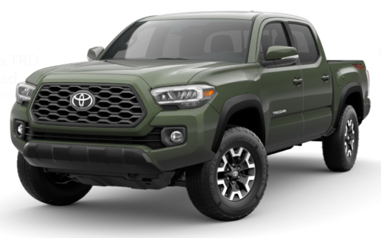toyota-tacoma-trd-off-road-army-green
